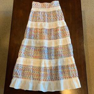 NWT Zara multicolored Maxi skirt size xs